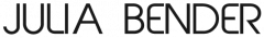 Logo Julia Bender (Webseite)